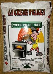 la Crete wood pellets