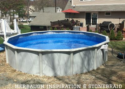 Herbaugh above ground pool