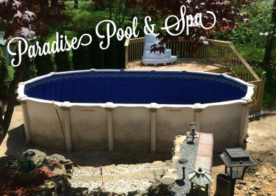 Paradise above ground pool